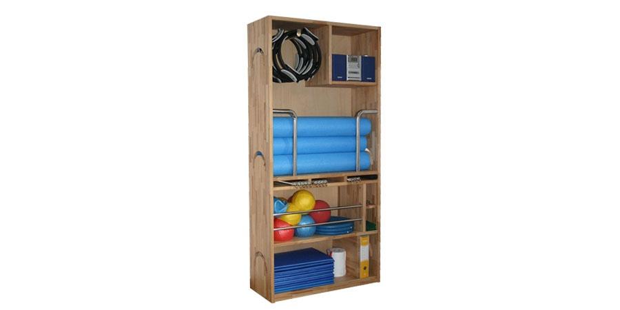 closet for pilates equipment